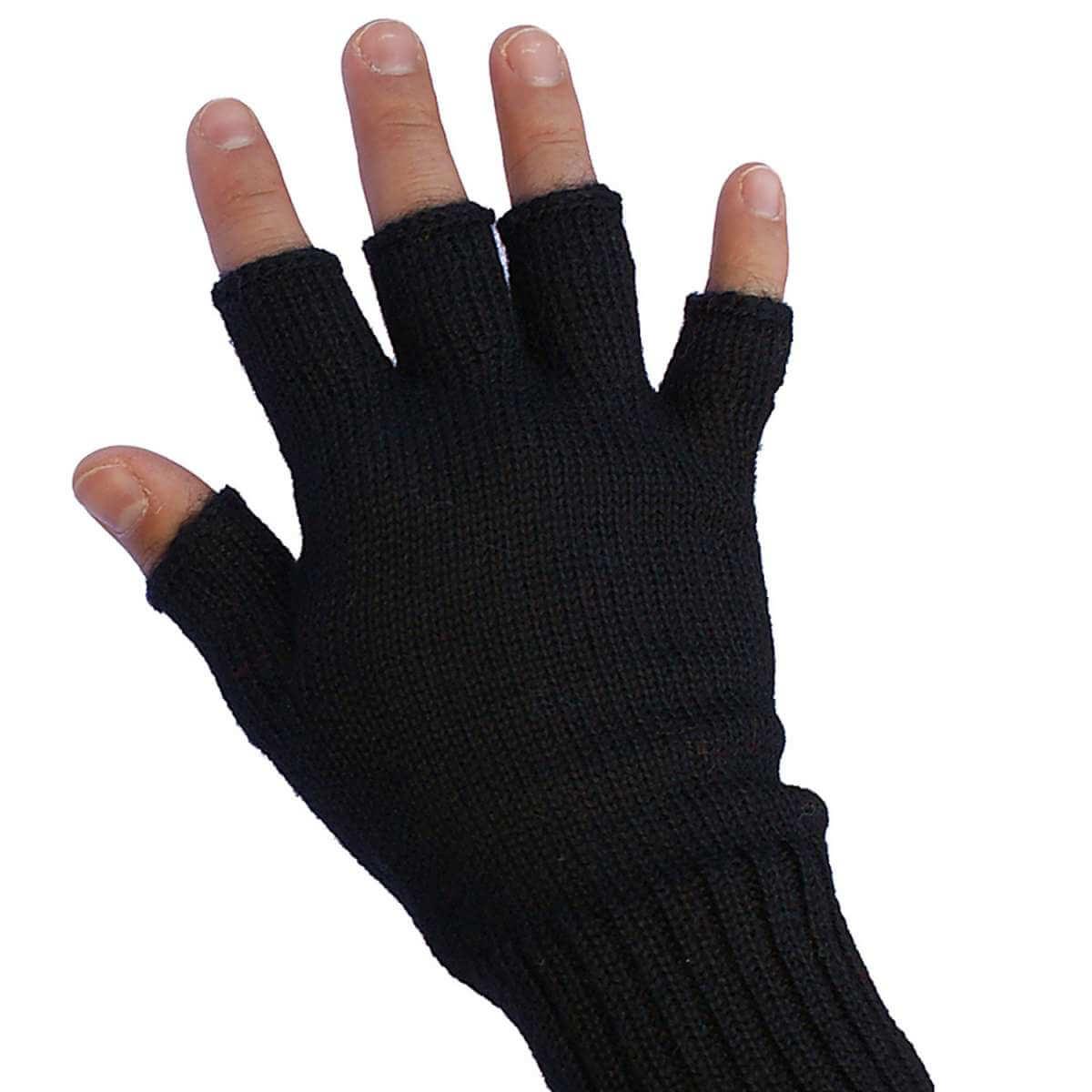 fingerlose alpaka handschuhe schwarz alpaka online shop. Black Bedroom Furniture Sets. Home Design Ideas